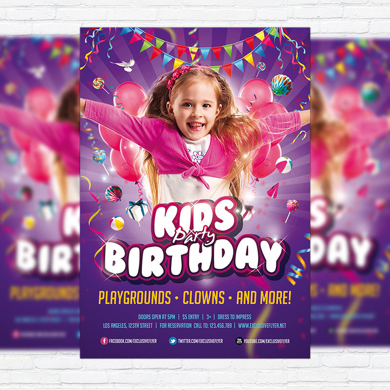 Free Anniversary Party Flyer Templates