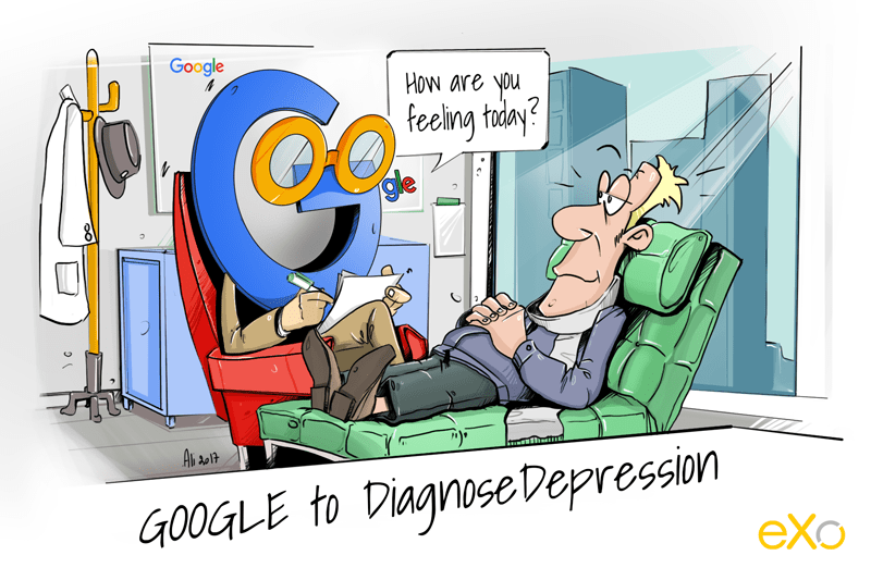 Cartoon Google to offer a diagnostic test for depression