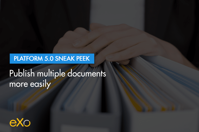 publish documents easily