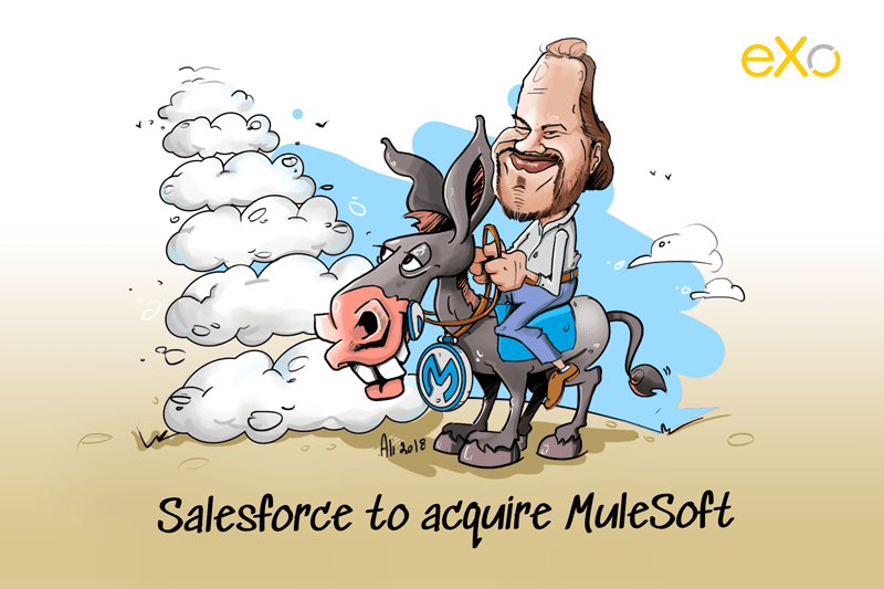 Salesforce to acquire Mulesoft