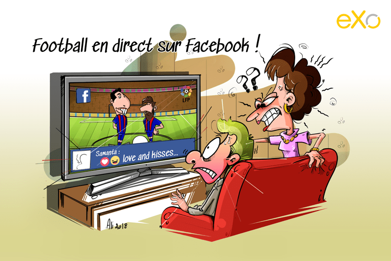 Foot en direct sur Facebook