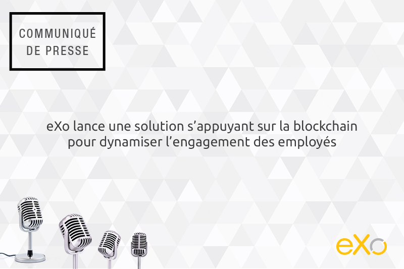 eXo Rewards, Blockchain, engagement des employés