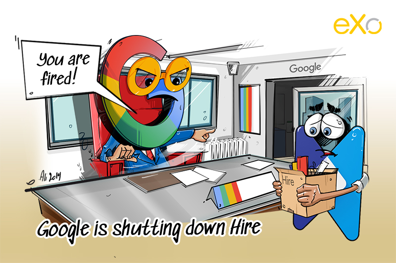 Google is shutting down Hire