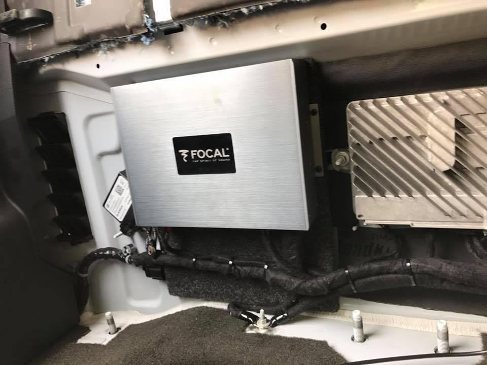 2015 Gmc Sierra 2500 Focal K2 Speakers Focal Amplifers Jl