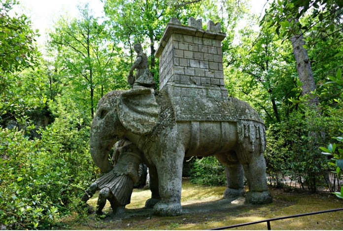 The Park Of Monsters Bomarzo Italy