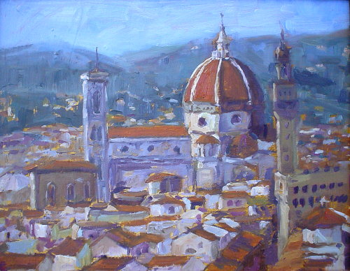 Oil Painting Florence