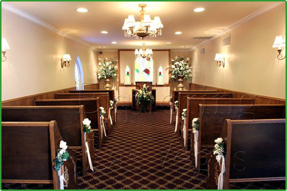 Las Vegas Wedding Chapel Reception