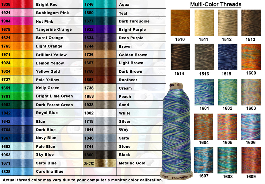 Coats And Clark Embroidery Floss Color Chart
