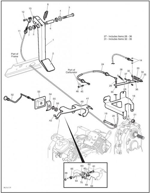 Ezgo Golf Cart Rear End Parts Diagrams