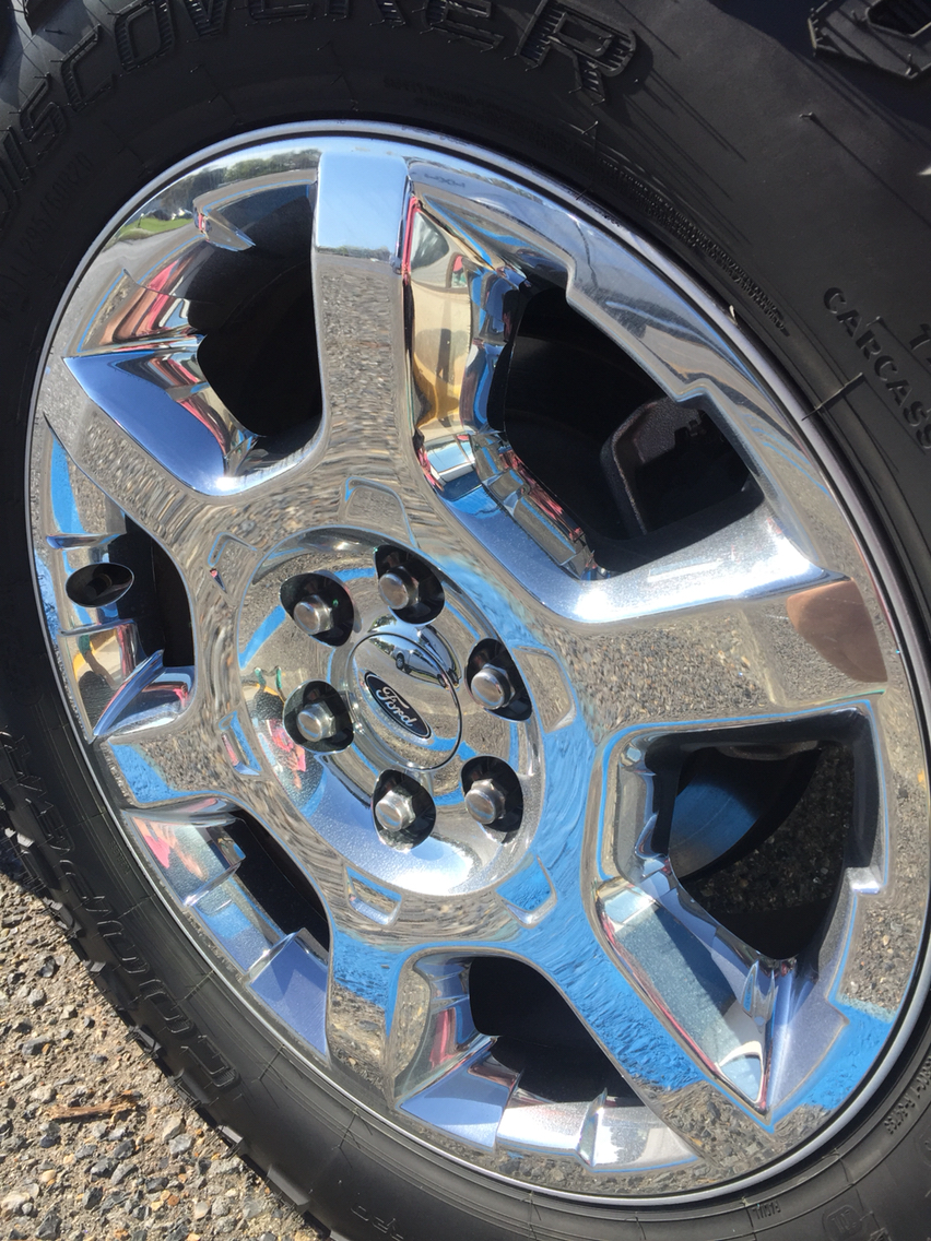 South Central 2014 Lariat Chrome Clad 20 Quot Rims Ford F150