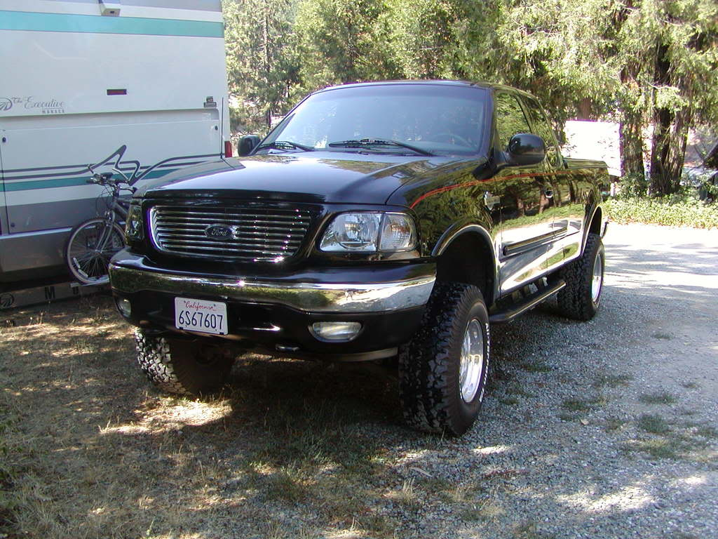 2001 Ford F 150 Body Lift