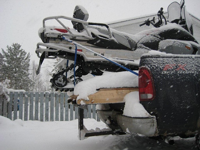 Will A Snowmobile Fit In The Bed Page 2 Ford F150