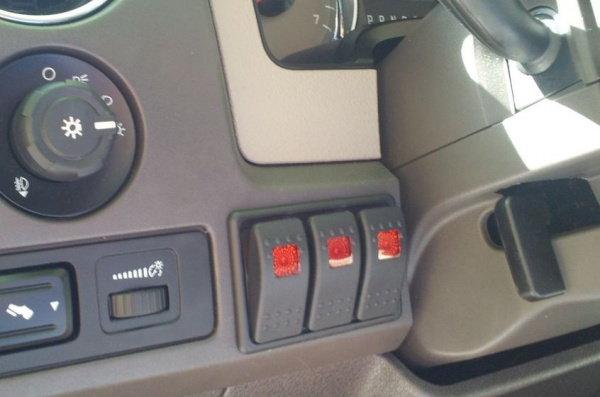 Road Light Switch Panel