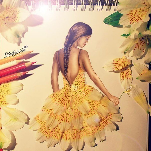Fab Ideas on Beautiful Creative Fashion Sketches     Fashion Design Sketches05 jpg