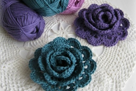 Crochet Rose Flower Beautiful Flowers 2019 Beautiful Flowers