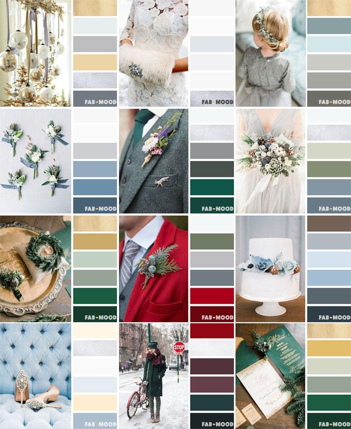 Autumn Wedding Colours 2017