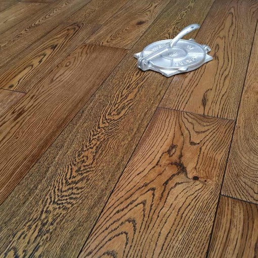 Abbey Colwich 14mm Oak Natural Black Wash Engineered Flooring
