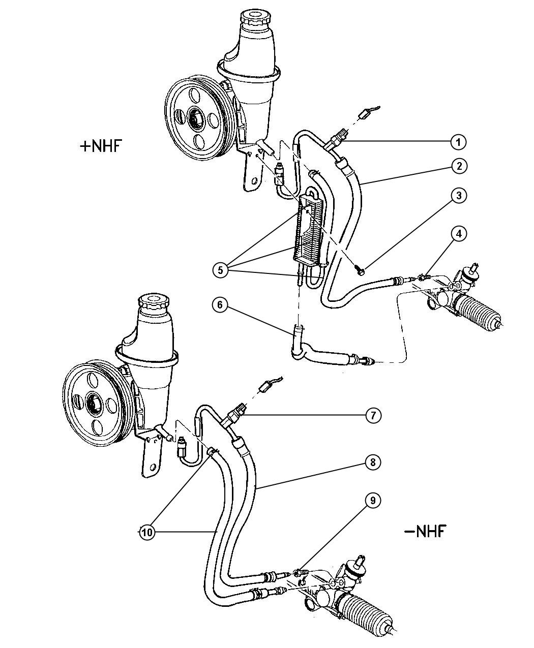 Pinion And Dodge Dakota Diagram Rack