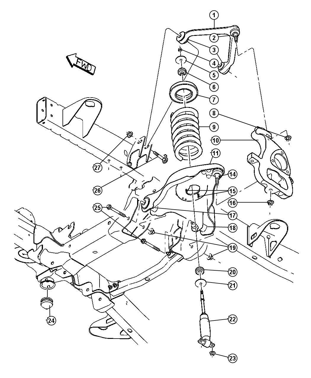 05 f350 front suspension diagram