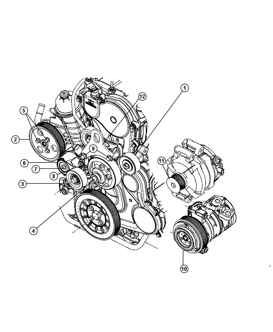 Tension pulley replacement ausjeepoffroad jeep news australia i2194711 showthreadphp t 123587 jeep wrangler engine belt diagram