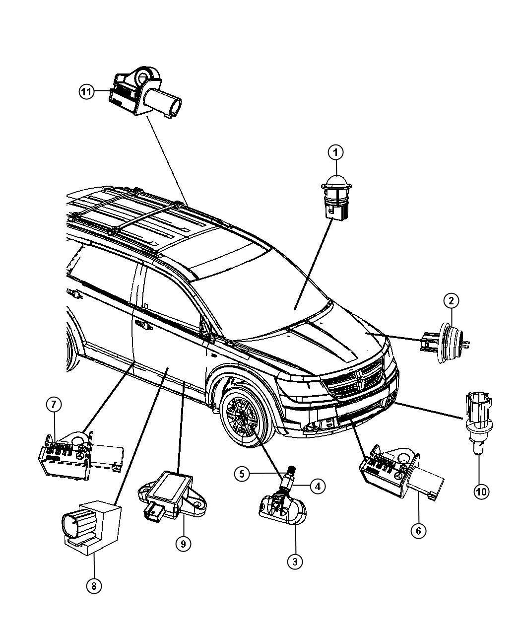 Dodge grand caravan air bag sensor location 2001 dodge dakota airbag wiring at justdeskto allpapers