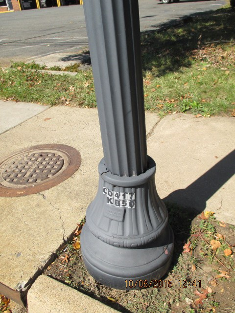 Report Light Pole Out