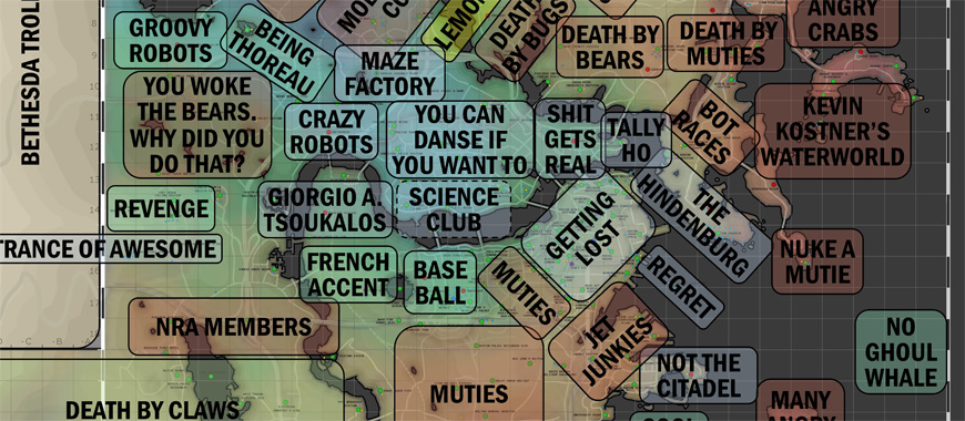 Fallout 4 Funny Area Map   Spoof Locations Fallout 4 Map