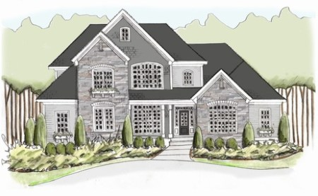 Custom Home Floor Plans Near Auburn University   Falls Crest