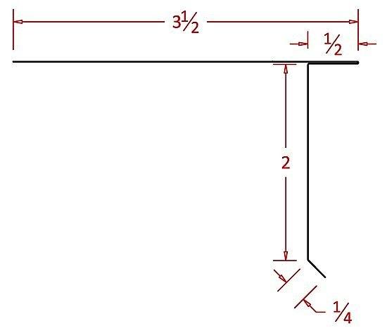 Roof Drip Edge Dimensions