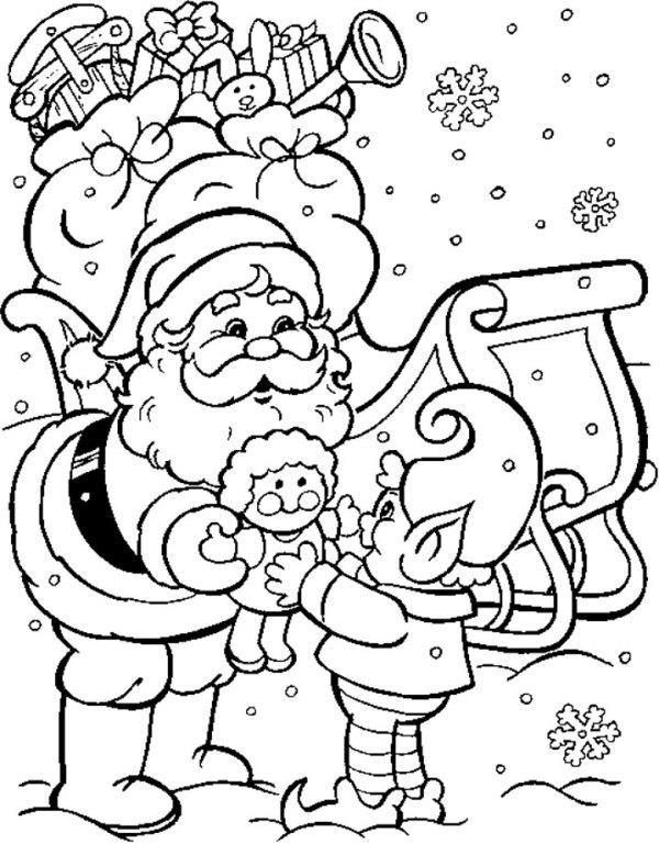 chrismas coloring pages # 58
