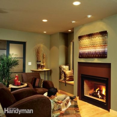 Installing Recessed Lighting for Dramatic Effect   The Family Handyman recessed lighting can lights how to install recessed lighting