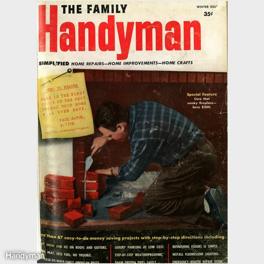 13 Throwback Magazine Covers From The Family Handyman Archives
