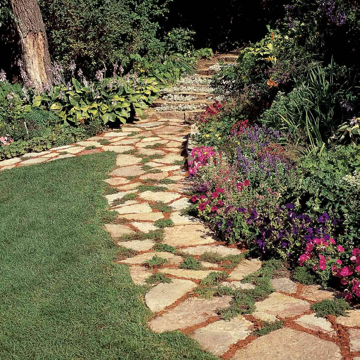 How Build Raised Garden Path