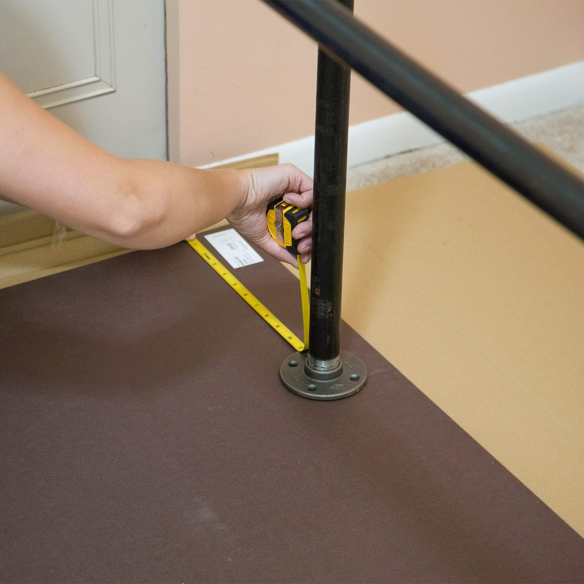How To Build A Pipe Desk — The Family Handyman | Black Iron Pipe Handrail | Cast Iron | Horizontal Pipe | Paint Pipe | Stair Outdoor Decatur | Railing Aluminium Pipe