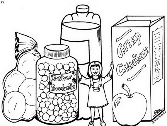 jewish coloring pages # 6
