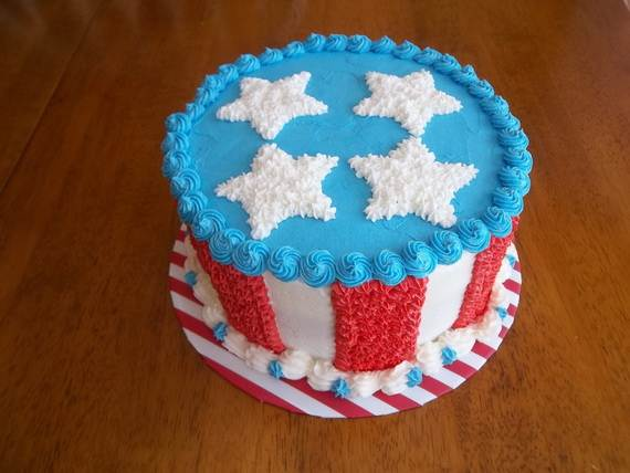 60 Adorable 4th Of July Cake Designs Ideas Family