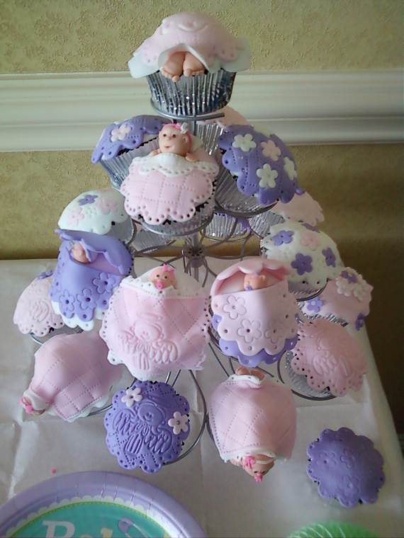 Baby Shower Cup Cake Cakes