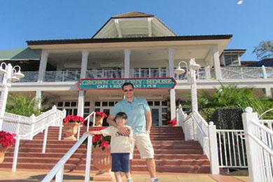 Crown Colony Restaurant Busch Gardens Tampa Bay Fl