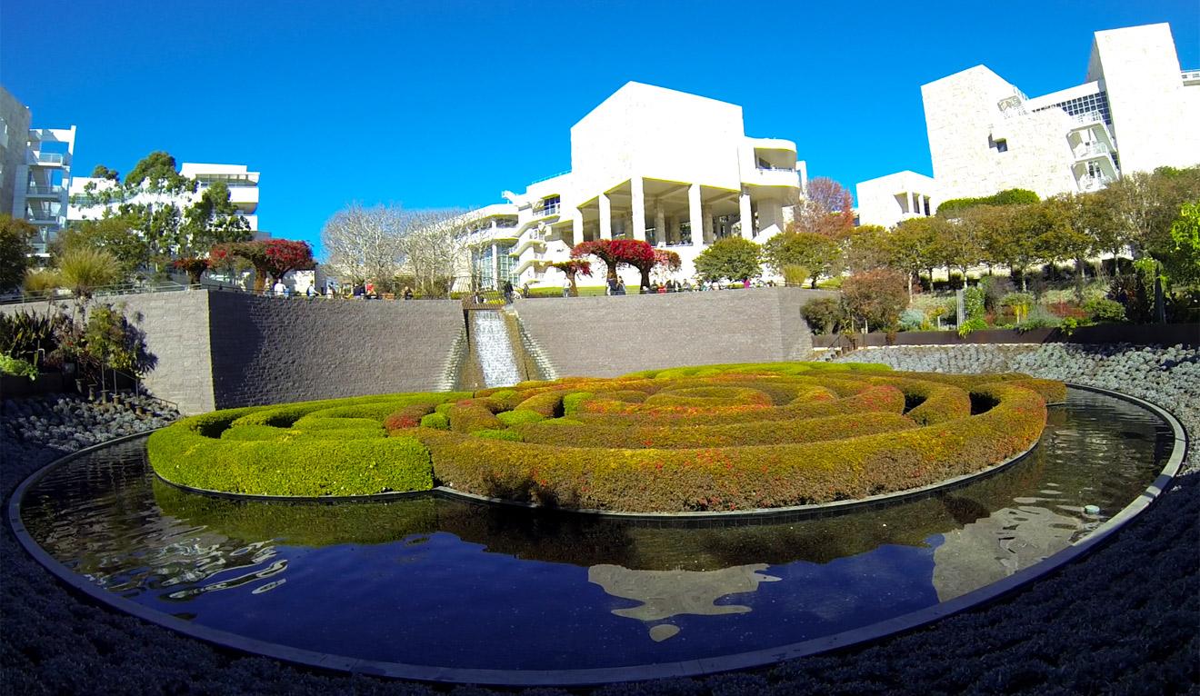 Central Lower Garden Getty Center
