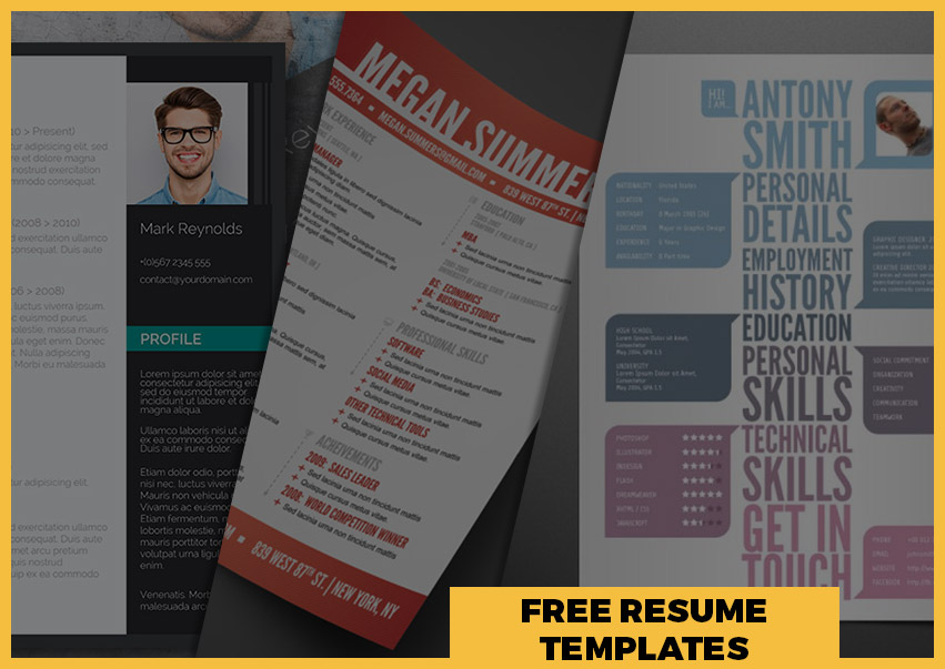 Best Free Resume Templates Around the Web     Fancy Resumes free modern resume templates