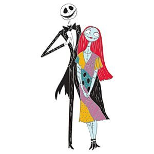 Jack Skellington & Sally pin (New Year series) from our ...