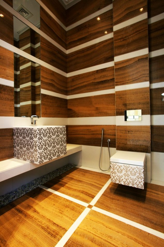 15 Vivid Ways To Decor The Interior Walls With Wooden Art