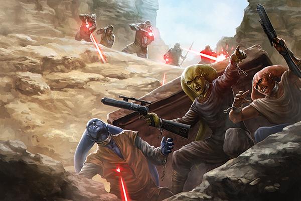 Unmasked Star Jawa Wars