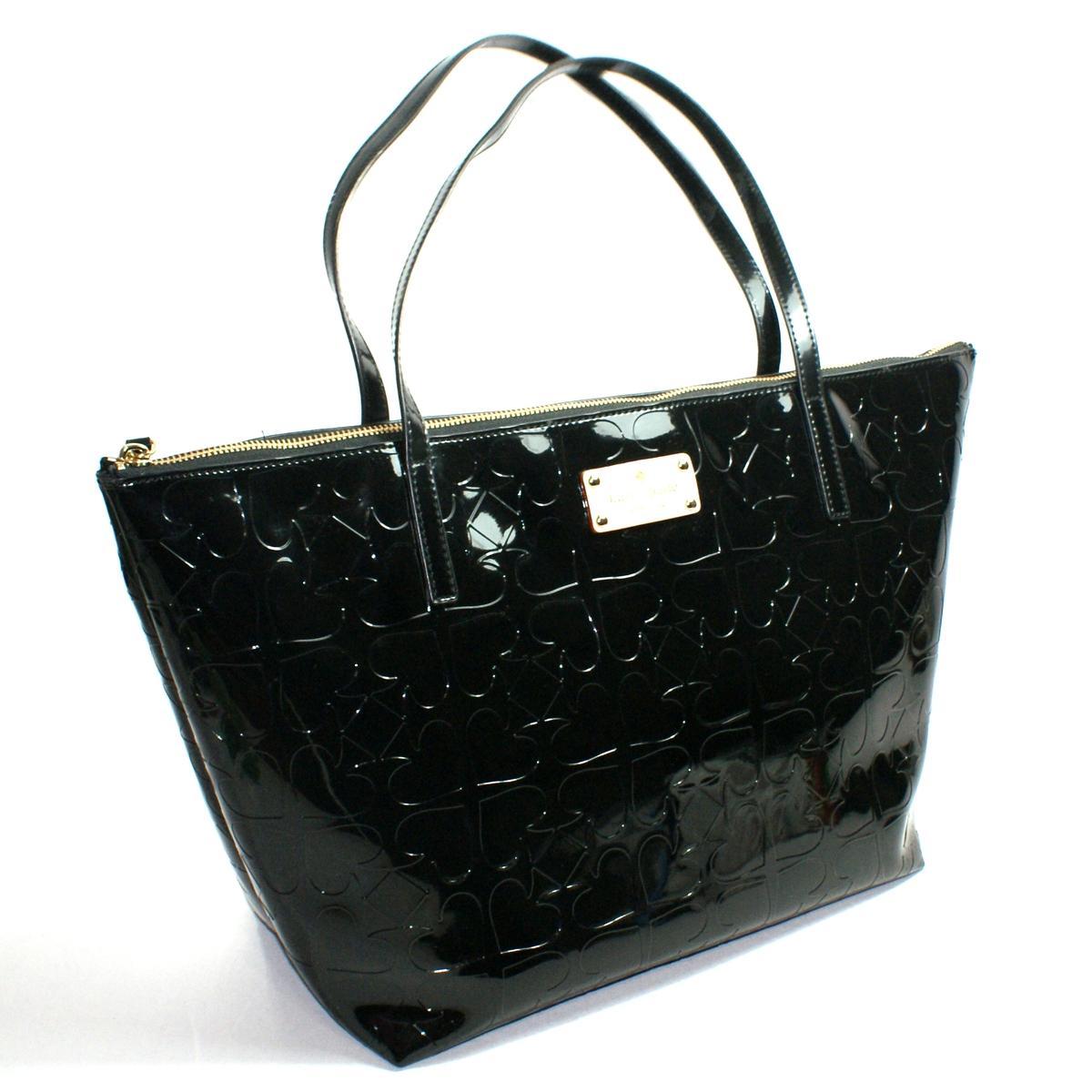 Kate Spade Leather Tote Black