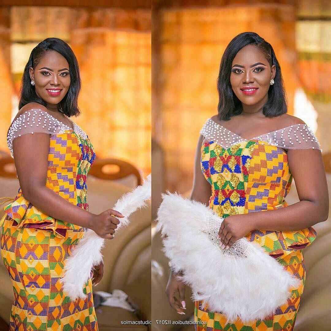 Latest Kente Styles For Wedding