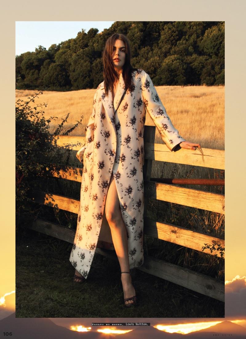 Lucie Von Alten Is Pretty In Louis Vuitton For Snc By