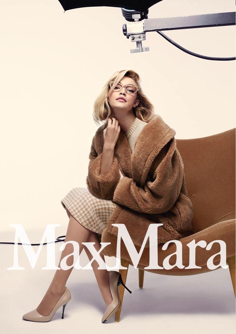 Gigi Hadid For Max Mara Fall 2015 Campaign Photos