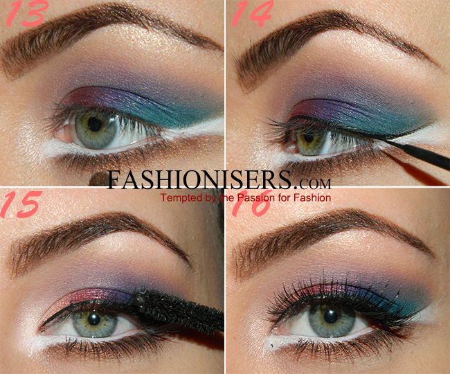 Party Makeup: Bird of Paradise Eye Makeup Tutorial