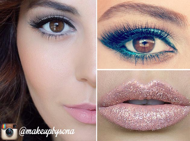 15 Instagram Beauty Gurus Worth Following: Makeup by Sona