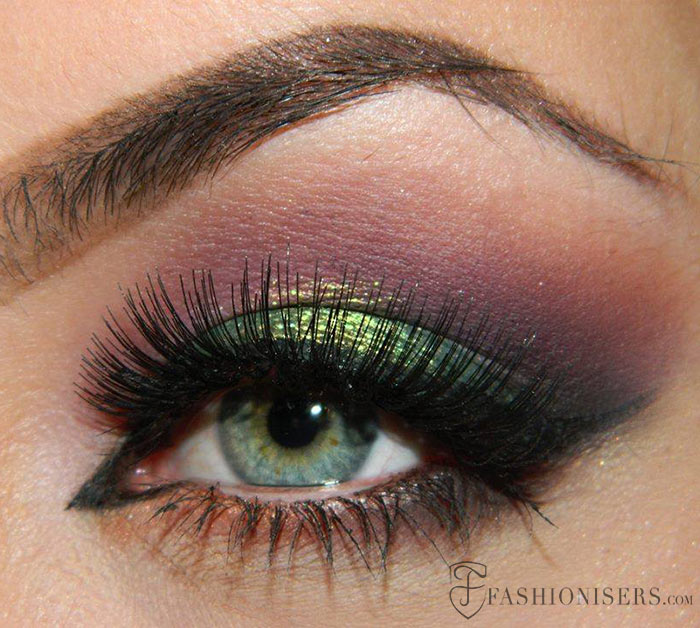 10 Dramatic Smokey Eye Makeup Ideas